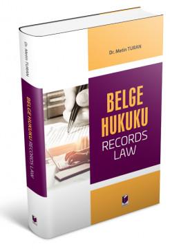 Belge Hukuku (Record Laws)