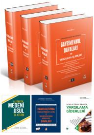 Asliye Hukuk Hakimleri için Kampanya 1 (Gayrimenkul Davaları, Kamulaştırma Davaları, Alfabetik Medeni Usul El Kitabı, Yargılama Giderleri)