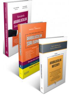 Sorularla Arabuluculuk Sınavına Hazırlık, Arabuluculuk Soru Bankası ve Hukuk Uyuşmazlıklarında Arabuluculuk Mevzuatı (3 Kitap Kampanya)