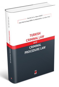 Turkish Criminal Law and Criminal Procedure Law