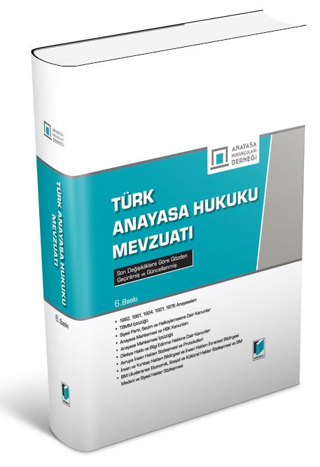 Türk Anayasa Hukuk Mevzuatı