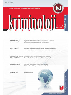 Kriminoloji Dergisi Yıl:5 Sayı:1