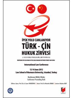 Türk-Çin Hukuk Zirvesi