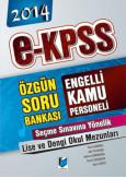 E-Kpss Engelli Kamu Personeli Seçme Sınavı Lise ve Dengi Okulları Soru Bankası