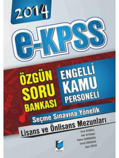 E-Kpss Engelli Kamu Personeli Seçme Sınavı Lisans-Önlisans Soru Bankası