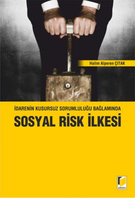 İdarenin Kusursuz Sorumluluğu Bağlamında Sosyal Risk İlkesi