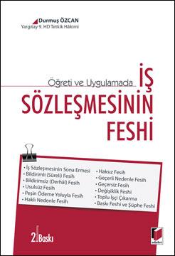 İş Sözleşmesinin Feshi
