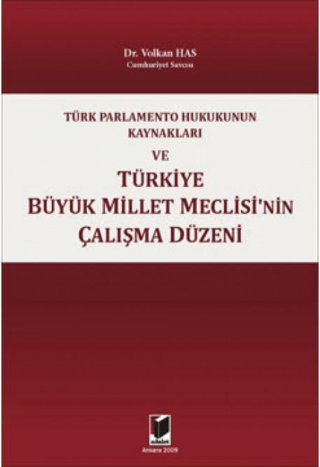 Türkiye Büyük Millet Meclisinin Çalışma Düzeni