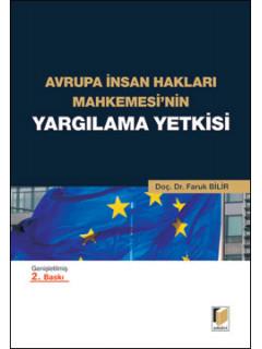 Avrupa İnsan Hakları Mahkemesi'nin Yargılama Yetkisi
