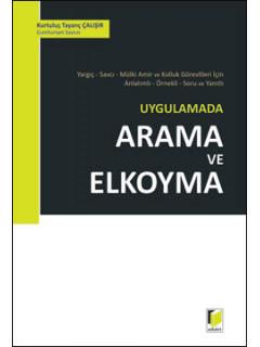Uygulamada Arama ve Elkoyma
