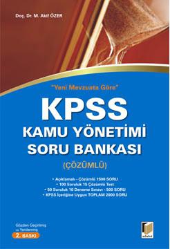 Kpss Kamu Yönetimi Soru Bankası (Çözümlü)