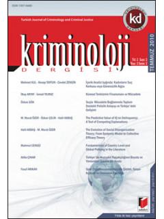 Kriminoloji Dergisi Yıl:2 Sayı:2