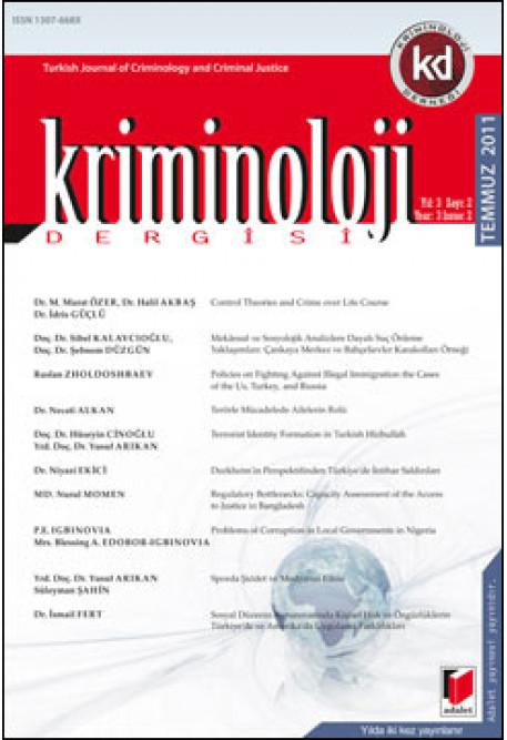 Kriminoloji Dergisi Yıl:3 Sayı:2