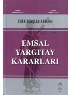 Türk Borçlar Kanunu Emsal Yargıtay Kararları
