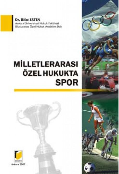 Milletlerarası Özel Hukukta Spor