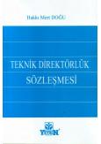 Teknik Direktörlük Sözleşmesi