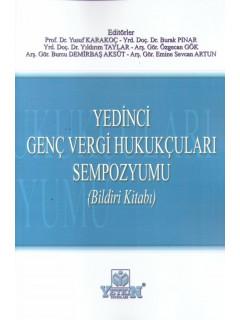 Yedinci Genç ve Vergi Hukukçuları Sempozyumu (Bildiri Kitabı)