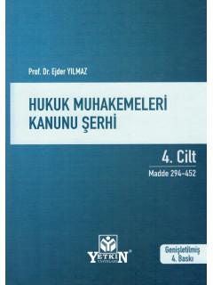 Hukuk Muhakemeleri Kanunu Şerhi (4 Cilt)