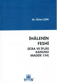 İhalenin Feshi (İcra ve İflas Kanunu Madde 134)