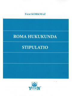 Roma Hukukunda Stıpulatıo
