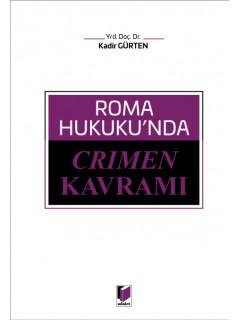 Roma Hukuku'nda Crimen Kavramı