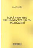Ulusalüstü Boyutlarıyla Engelli Hakları ve Engelli Kişilerin Hakları Sözleşmesi