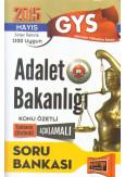 """GYS """"Görevde Yükselme Sınavı"""" Adalet Bakanlığı Soru Bankası"""