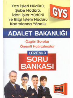 Adalet Bakanlığı Çözümlü Soru Bankası