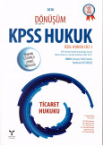 KPSS Hukuk Özel Hukuk Cilt 1 Ticaret Hukuku