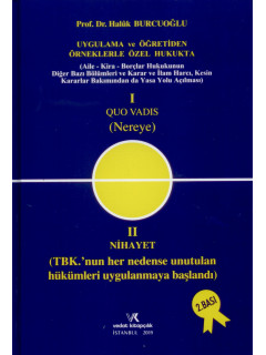 I Quo Vadis (Nereye) II Nihayet