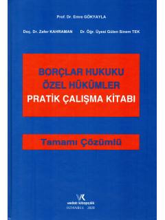 Borçlar Hukuku Özel Hükümler Pratik Çalışma Kitabı