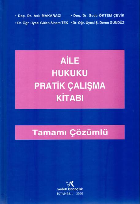 Aile Hukuku Pratik Çalışma Kitabı
