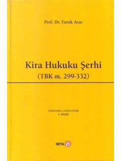 Kira Hukuku Şerhi