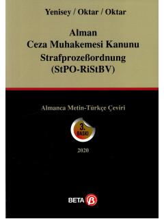 Alman Ceza Muhakemesi Kanunu Strafprozebordnung (Stpo-RiStBV)
