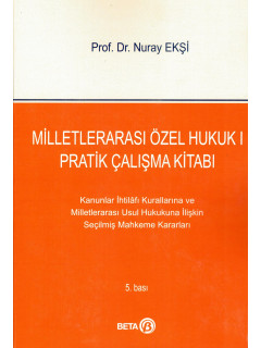 Milletlerarası Özel Hukuk I Pratik Çalışma Kitabı