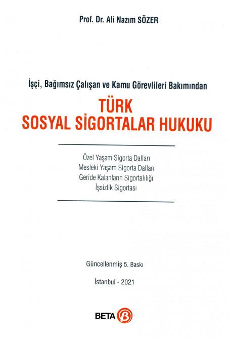 Türk Sosyal Sigortalar Hukuku