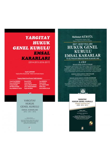 Yargıtay Hukuk Genel Kurulu Kararları (2009-2020 arası) (4 Cilt)