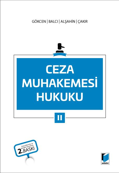 Ceza Muhakemesi Hukuku II