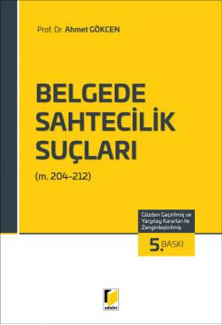 Belgede Sahtecilik Suçları (m. 204-212)