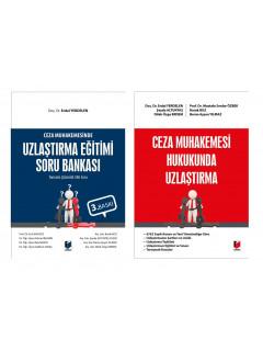 Ceza Muhakemesi Hukukunda Uzlaştırma ve Uzlaştırma Eğitimi Soru Bankası (586 Soru) (Kampanya)