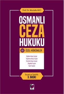 Osmanlı Ceza Hukuku II