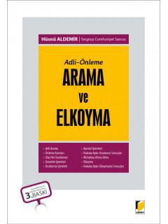 Arama ve Elkoyma