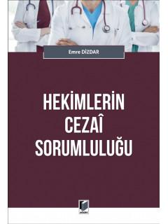 Hekimlerin Cezai Sorumluluğu