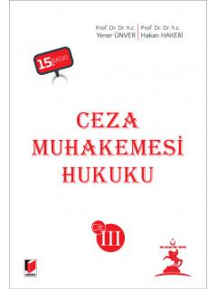 Ceza Muhakemesi Hukuku (3 Cilt)