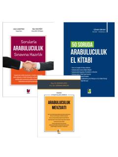 Sorularla Arabuluculuk Sınavına Hazırlık, 50 Soruda Arabuluculuk El Kitabı ve Hukuk Uyuşmazlıklarında Arabuluculuk Mevzuatı (3 Kitap Kampanya)