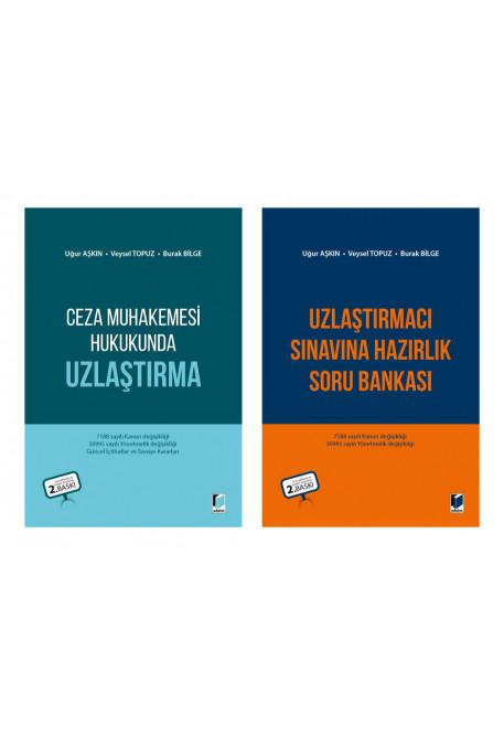 Ceza Muhakemesi Hukukunda Uzlaştırma + Uzlaştırmacı Sınavına Hazırlık Soru Bankası (2 Kitap Kampanya)