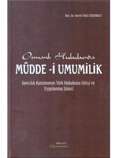 Osmanlı Hukukunda Müdde-i Umumilik