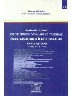 Özel Yasalarla İlgili Davalar Kamulaştırma 2942 Sy. 1-41