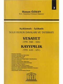 Vesayet TMY. 396 - 494, Kayyımlık TMY. 426-431