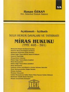Miras Hukuku TMY. C. 1 495-591 C. 2 495-682